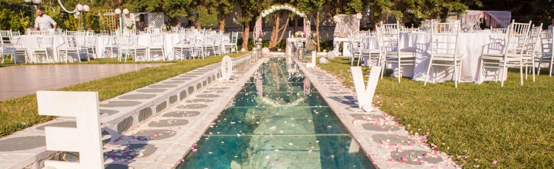 Ktima the Glam, Κτήμα γάμου νότια προάστια